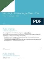 Pratica 1 - Introdução à WWW