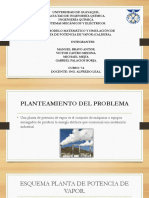 SUSTENTACION PLANTA DE POTENCIA DE VAPOR