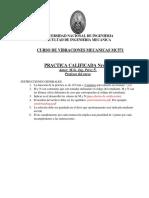 3RA PRACTICA CALIFICADA vibraciones 2020-II