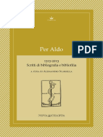 Cimelia per Aldo - 2015