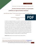 analisis de ciclo vital de la estructura familiar y sus principales problemas mx
