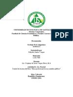 Codigo de etica CPA; Auditoria I