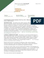Clinical manifestations dx y tx