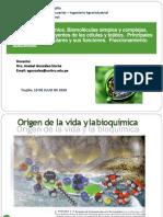 T-1 Bioquímica -Ing Agroindustrial
