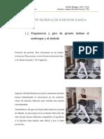Descripción Teórica de Pasos de Danza
