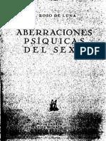 Aberraciones Psiquicas Del Sexo