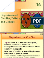 Chapter XVI - Organizational Conflict, Politics, and Change