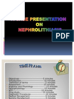 nephrolithiasis the finale