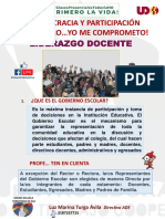 GOBIERNO ESCOLAR - DEMOCRACIA Y PARTICIPACION 2021