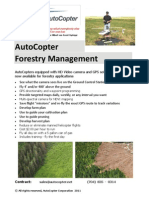 AutoCopter Forestry Solution