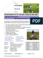 AutoCopter Aerial Imaging Solution