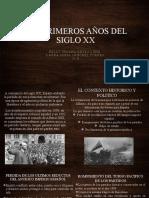 LOS PRIMEROS AÑOS DEL SIGLO XX