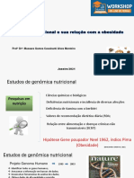 Workshop Obesidade e Genomica