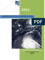 Manevra Navei in Ciclon Emisfera Nordica - Navigatie in Conditii Speciale