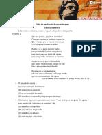 Ficha de verificação - Camões Lírico