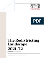 The Redistricting Landscape, 2021–22