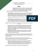 Filosofía Temas 3 y 4 (2ªevaluación)
