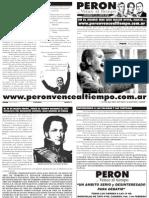 Perón vence al tiempo 13