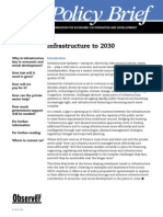 Infrastructure to 2030 OCED Policy Paper