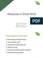 Small Wind Presentation- UGE