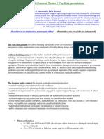 Technical Aspects of Seismically Safer Schools - Garry de la Pomerai