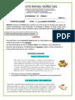 guia de aprendizaje ESPAÑOL  6º NO. (1) 08-12 DE FEBRERO