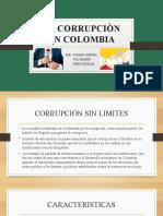 LA CORRUPCION EN COLOMBIA