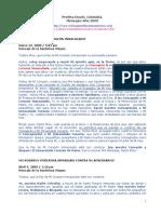 Profeta Enoch, Colombia. Mensajes Año 2009 - Apariciones de ...