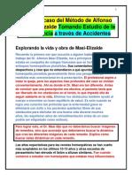 En Caso Del Método de Alfonso Masi Elizalde Tomando Estudio de La Sustancia a Través de Accidentes Ejemplos De