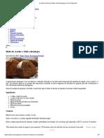 Receita de Bolo de Azeite e Mel (Alentejo) _ Doces Regionais