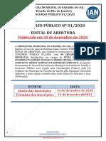 Edital de Abertura Concurso Publico n 01 2020 (1) (1)