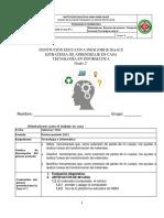 GUIAS  TECNOLOGIA E INFORMATICA GRADO SEGUNDO (2°). PRIMER PERIODO