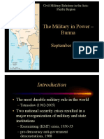 Thayer, The Military in Power