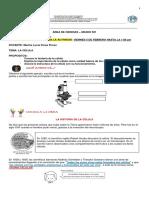 ACTIVIDAD DE CIENCIAS - 1 AL 5 DE FEBRERO DEL 2021