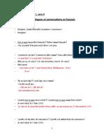 Dialogues en francais (1) cu traducere