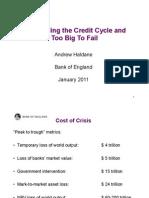 Andrew Haldane, Executive Director, Financial Stability -Bank of England