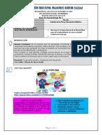 Guía de aprendizaje 01 catedra y artística Tercer Grado