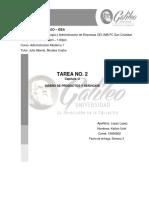 TAREA 2 ADMINISTRACION  MODERNA 1 KELLVIN LOPEZ 19000802