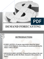 Demand Forecsting-Presentation