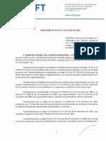 Resolução nº 074.2019 - Prerrogativas e atribuições dos Técnicos Industriais com habilitação em Eletrotécnica, revoga a Reso