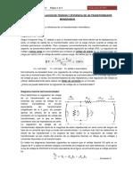 actividad 7 REGULACION Y EFICIENCIA DE UN TRANSFORMADOR MONOFASICO