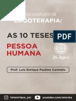 Livro Digital - As Dez Teses Da Pessoa Humana