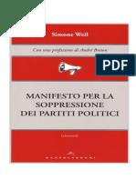 Manifesto WEIL