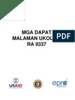 Mga Dapat Malaman Ukol Sa Ra 9337 (Vat Primer Tagalog Ang Ilocano)