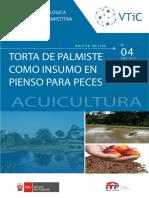 TORTA DE PALMISTE