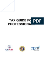 Tax Guide for Professionals