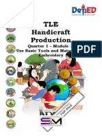 Tle Handicraft Quarter 1 Module 1