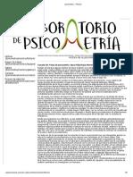 psicometria __ Historia