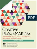Markusen & Gadwa (2010) - Creative Placemaking Paper