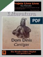 LIVRO - CANTIGAS - DOM DINIS